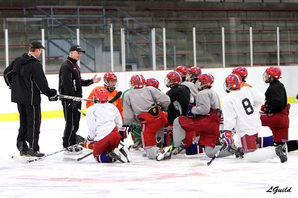 camp eishockey training einzeltraining